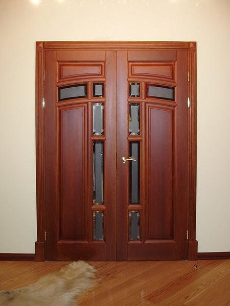 Двери из массива дуба от производителя дешево
