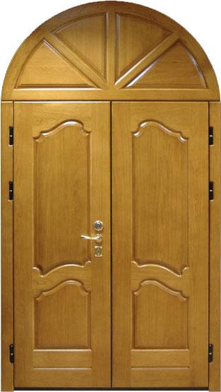 арочные двери входные на заказ