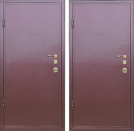 металлические двери с порошковым напылением от производителя воскресенск