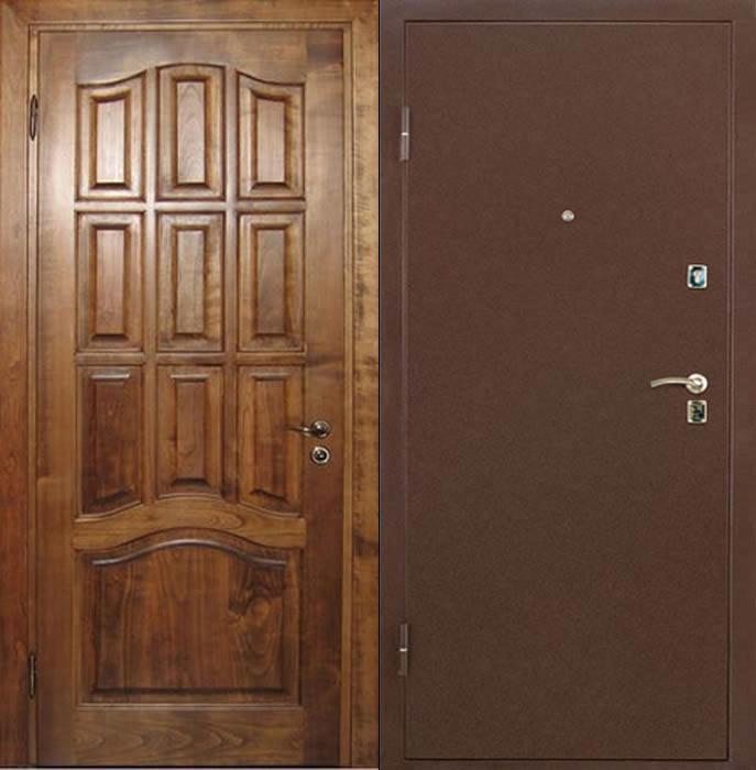 металлические двери полуторные под заказ элитные