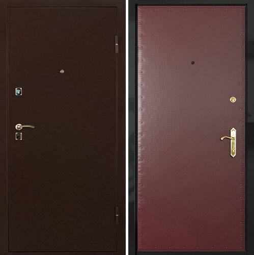 двери металлические входные с кожой