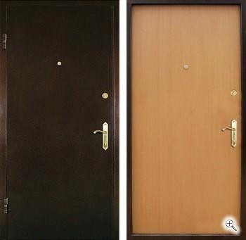 двери стальные на заказ эконом класса в орехово зуево