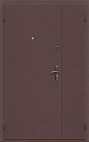тамбурная металлическая дверь с отделкой порошковым напылением