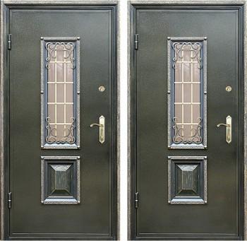 сколько стоит изготовить железную дверь