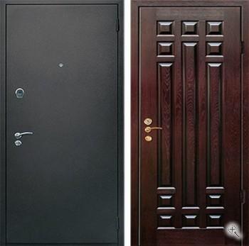 входные металлические двери в квартиру массив дуба и напыление