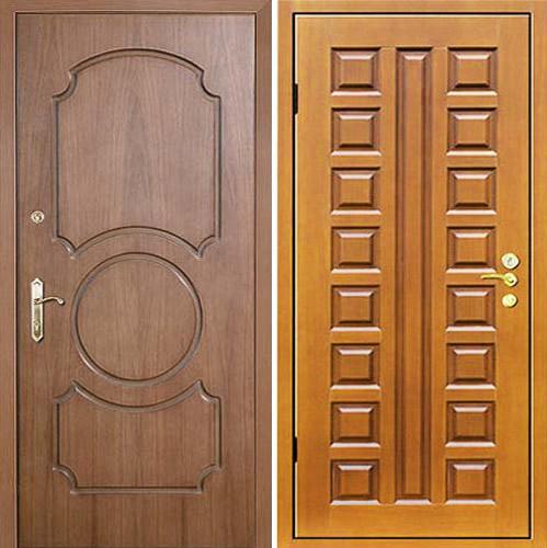 металлические входные двери с отделкой мдф