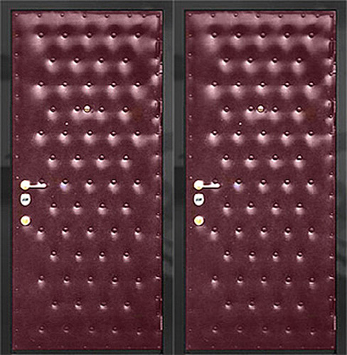 входные двери винил