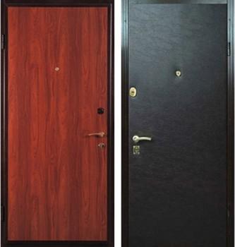 дверь металлическая офисная винилискожа