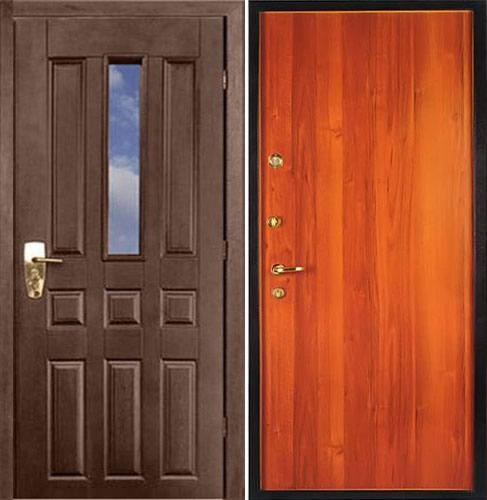 дверь входная со стеклом в кашире