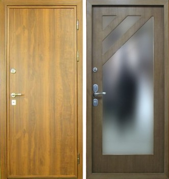 дверь железная для дачи истра